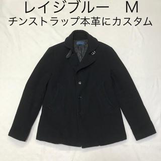 レイジブルー(RAGEBLUE)のレイジブルーハーフコート、チンストラップ、丸襟 黒 M(その他)