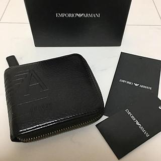 エンポリオアルマーニ(Emporio Armani)のアルマーニ 財布 ラウンドファスナー 希少(長財布)