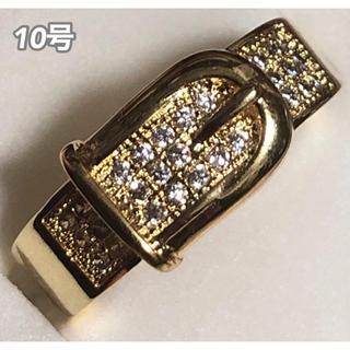 ★定価7980円★【SWAROVSKI】ベルトリング  スワロフスキークリスタル(リング(指輪))
