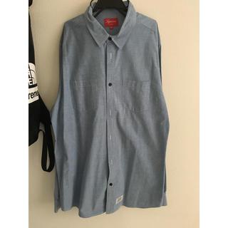 Supreme - supreme シャンブレーシャツ XL