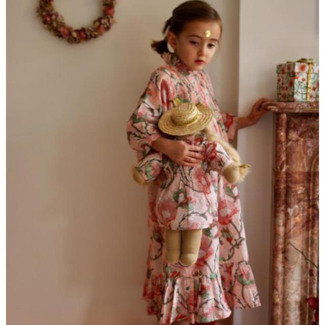 Caramel baby&child (キャラメルベビー&チャイルド)の極美品‼️happy to see you×bonjour diary ドール服 キッズ/ベビー/マタニティのおもちゃ(ぬいぐるみ/人形)の商品写真