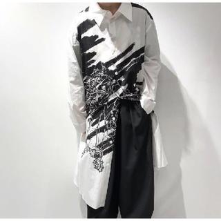 Yohji Yamamoto - Ground Y × EVANGELION 零号機 ビッグシャツ  ユニセックス