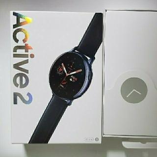 サムスン(SAMSUNG)のGalaxy Watch Active2 40mm ブラック(その他)