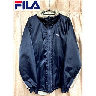 フィラ(FILA)の【レア】FILA ナイロンジャケット ネイビーブルー 紺 M(ナイロンジャケット)