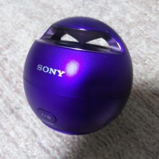 SONY - SONY Bluetooth ポーダブルスピーカー SRS-X1 バイオレット