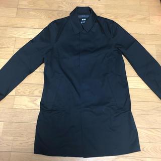 UNIQLO - UNIQLO BLACK coat long