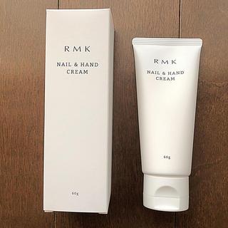 アールエムケー(RMK)のRMK ネイル&ハンドクリーム 60g(ハンドクリーム)