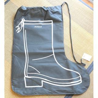 エーグル(AIGLE)の【新品未使用】【袋のみ】エーグル 2020ブーツ柄外袋(中身なし)(ショップ袋)
