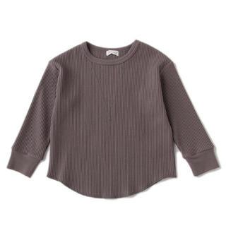 プティマイン(petit main)のb.room 長袖ワッフルTシャツ(Tシャツ/カットソー)