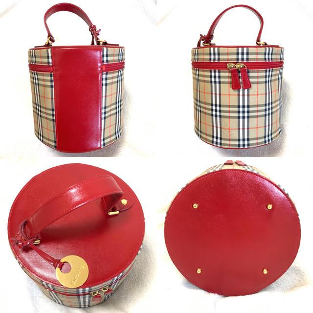 BURBERRY(バーバリー)の未使用 Burberry  バニティ  バッグ  レディースのバッグ(ハンドバッグ)の商品写真