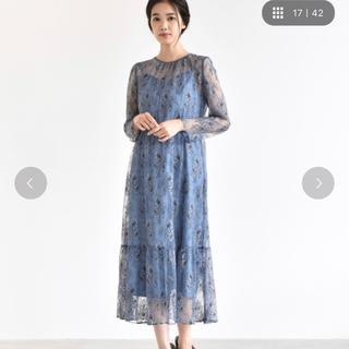 ロッソ(ROSSO)のships×Rosso kaene総レースワンピース 新品タグ付き 結婚式ドレス(ロングワンピース/マキシワンピース)