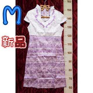 新品タグ付*M*チャイナドレス(その他ドレス)