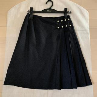 ルネ(René)のルネ♡パール付きスカート34(ひざ丈スカート)