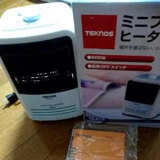テクノス(TECHNOS)のまりんころさん専用 テクノス ミニファンヒーター TS-613(電気ヒーター)