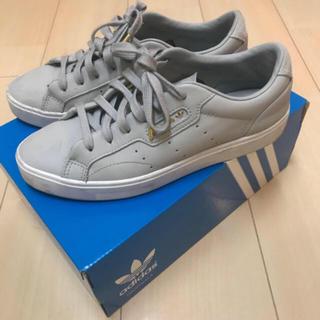adidas - adidas アディダススリーク スニーカー  グレー