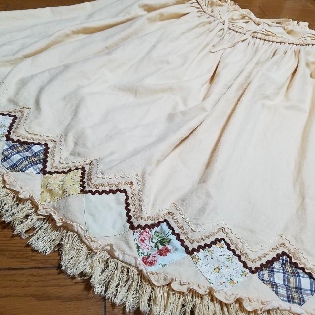 PINK HOUSE(ピンクハウス)のピンクハウス パッチワークスカート レディースのスカート(ロングスカート)の商品写真