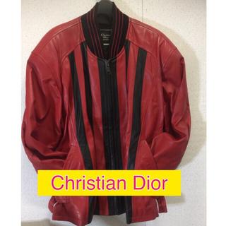 クリスチャンディオール(Christian Dior)のChristian Dior MONSIEUR 革ジャン(レザージャケット)