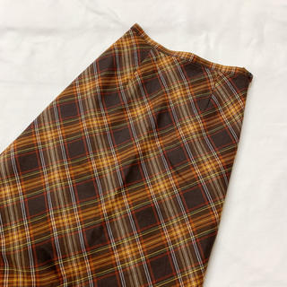ロキエ(Lochie)のvintage チェック柄のクラシカルレトロスカート(ロングスカート)