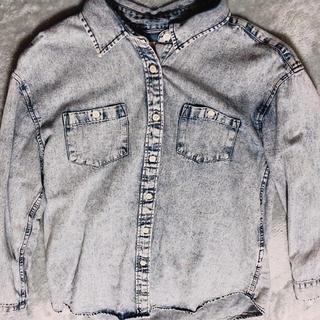 ウィゴー(WEGO)のデニムシャツ(シャツ/ブラウス(長袖/七分))