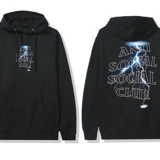 アンチ(ANTI)のANTI SOCAL Twister Black Hoodie / XL(パーカー)