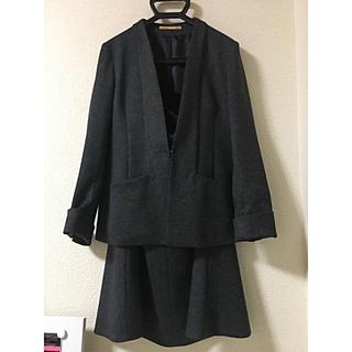 ORIHICA - ORIHICA ノーカラー スーツ セットアップ