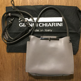 DEUXIEME CLASSE - ジャンニキャリーニ バッグ ほぼ 未使用 新品  ショルダーバッグ ミニバッグ
