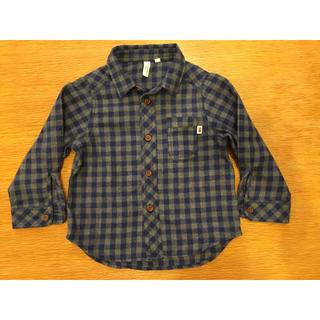 SM2 - Samansa mos2 Lagon   キッズチェックシャツ サイズ100