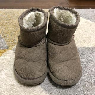 プティマイン(petit main)のブーツ チャコールグレー プティマイン(ブーツ)