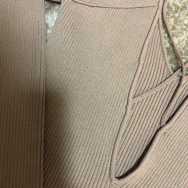 eimy istoire(エイミーイストワール)のeimyバッククロスニット レディースのトップス(ニット/セーター)の商品写真