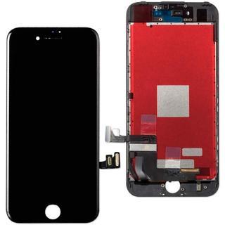 Apple - @iPhone7 高品質液晶フロントパネル 黒