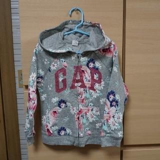 babyGAP - babyGAP☆美品☆花柄パーカー☆サイズ105-110