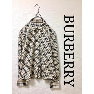 BURBERRY - Burberry バーバリー ノバチェック シャツ