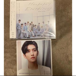 SEVENTEEN - HappyEnding 通常盤CD+エントリーカード ジョシュア