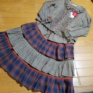 ピンクハウス 新品 ブラウス&スカート