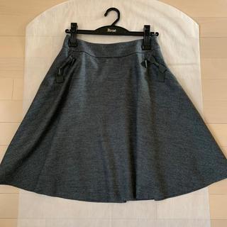 トゥービーシック(TO BE CHIC)のTO BE CHIC♡リボンスカート38(ひざ丈スカート)