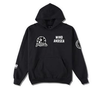 HYSTERIC GLAMOUR - HYSTERIC GLAMOUR × WDS HOODIE BLACK M