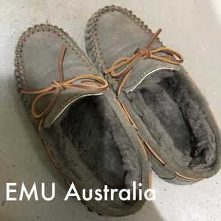 EMU - EMU モカシン エミュー チャコール