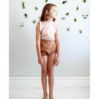 キャラメルベビー&チャイルド(Caramel baby&child )の美品‼️soor ploom ショートパンツ moth 2/3 完売品(パンツ/スパッツ)
