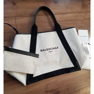 Balenciaga - バレンシアガ ネイビーカバナ M トートバック