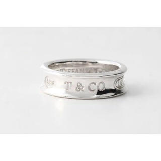 Tiffany & Co. - ティファニー 1837 ナロー リング レア シルバー925 磨き仕上げ済