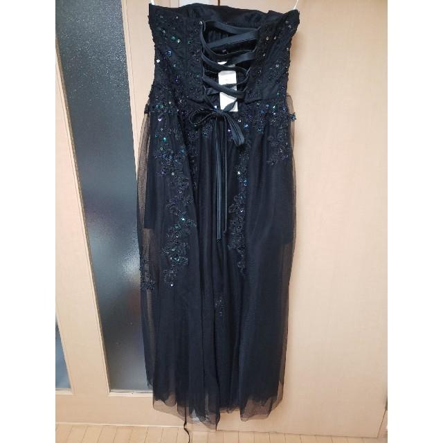 AIMER(エメ)の黒ロングドレス レディースのフォーマル/ドレス(ロングドレス)の商品写真