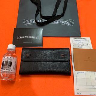 Chrome Hearts - 超絶激シボ!!最硬‼︎新品!!クロムハーツ WAVE ウォレット 財布インボイス