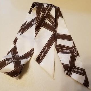 Hermes - 新品 エルメス HERMES ツイリー ボルデュック リボン スカーフ