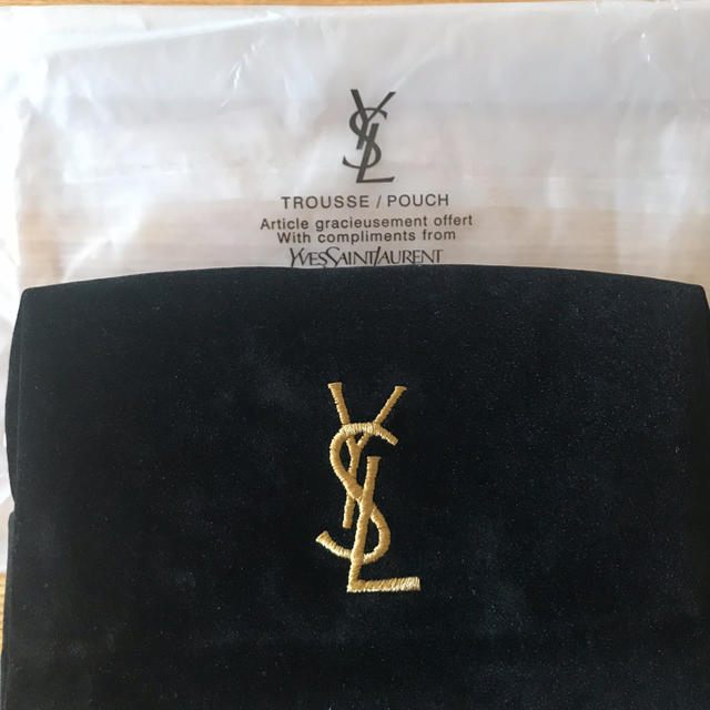 Saint Laurent(サンローラン)の大人気ブランド化粧ポーチ レディースのファッション小物(ポーチ)の商品写真