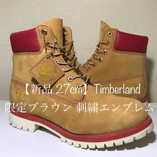 Timberland - 【Timberland新品】27cmティンバーランド プレミアムブラウン×レッド