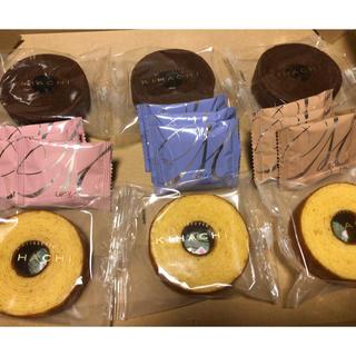キハチ バームクーヘン 6個、コロンバン クッキー 9枚セット 賞味期限間近!!