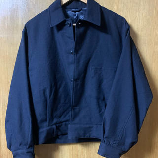 COMOLI - comoli 19aw ウールサージベルテッドジャケット