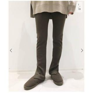アパルトモンドゥーズィエムクラス(L'Appartement DEUXIEME CLASSE)のWool Zip Leggings(レギンス/スパッツ)