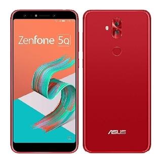 エイスース(ASUS)の新品 ZenFone 5Q ルージュレッド  (スマートフォン本体)