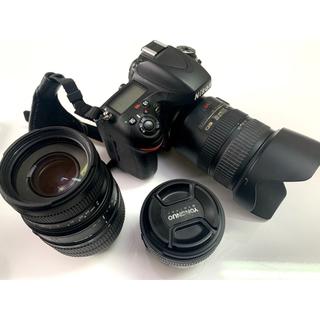 Nikon - nikon d600 + レンズ3本 【美品】